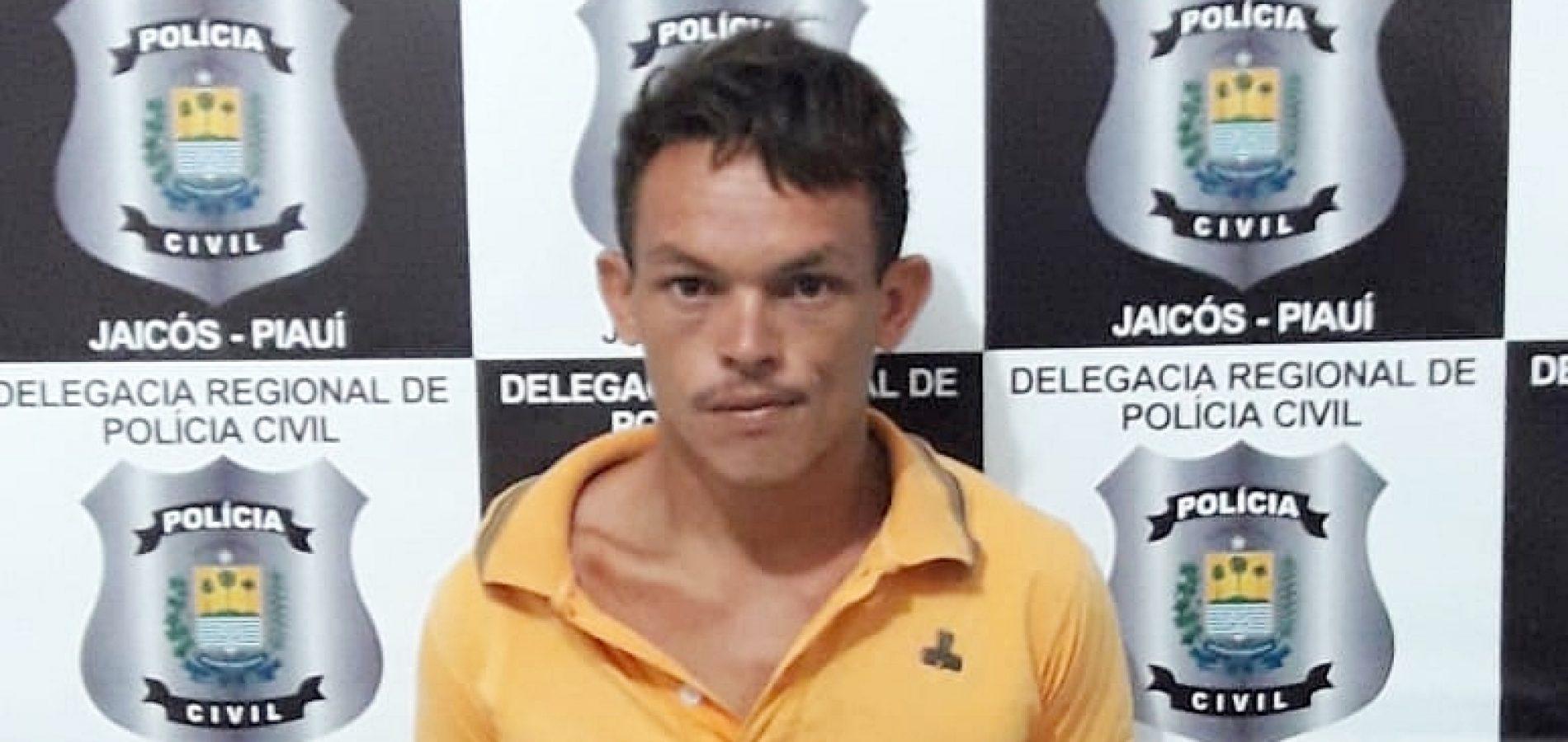 JAICÓS | Homem é preso acusado de abusar de criança de 11 anos