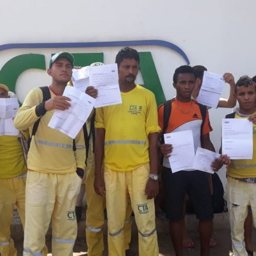 Funcionários da coleta de lixo de Cidade do Piauí são demitidos após protesto contra atraso de salário