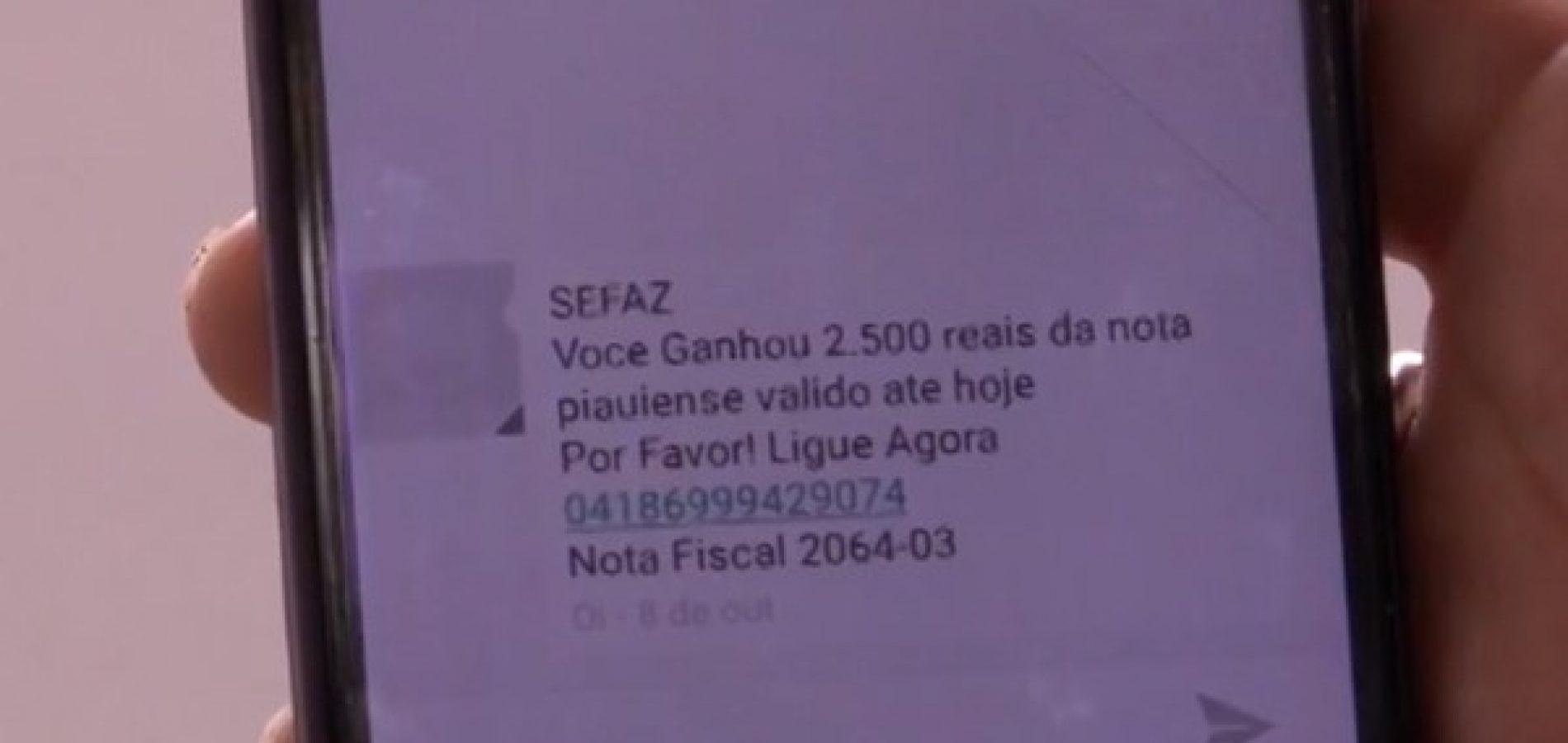 Resultado de imagem para Vítima cai no golpe da 'Nota Piauiense' e transfere R$ 5,5 mil para bandidos