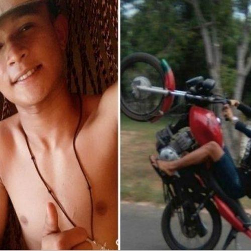 Jovem morre ao colidir moto contra cabo de sustentação de poste no Piauí