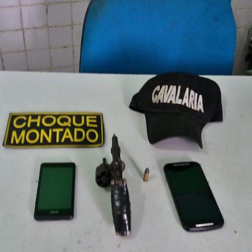 Homem é preso por porte ilegal de arma no Piauí