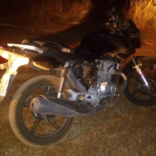 Motocicleta é recuperada pela PM no Piauí