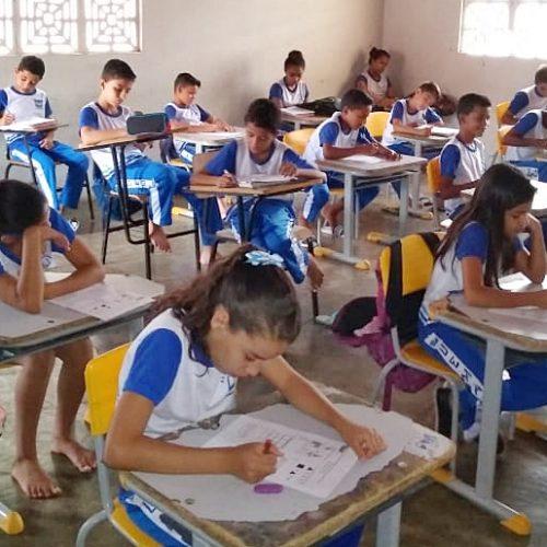 743 alunos participam da I Olimpíada Municipal de Matemática de Caridade