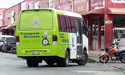 Bandidos assaltam ônibus do transporte eficiente no Piauí