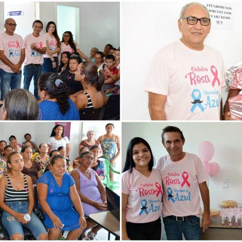 GEMINIANO   Outubro Rosa orienta mulheres para a prevenção de dois tipos de câncer