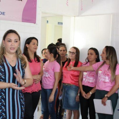 Secretaria de Saúde realiza Semana Rosa em Caridade do Piauí