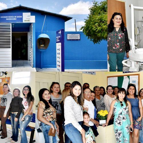 SÃO JULIÃO | Unidade Básica de Saúde do povoado Mandacaru é reinaugurada e ganha novos equipamentos; veja fotos