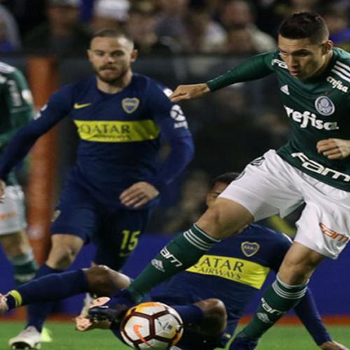 Palmeiras sofre dois gols no final e perde para o Boca Juniors na Argentina