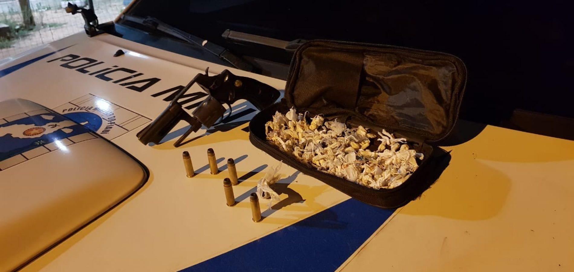 PM apreende droga e arma de fogo durante Operação no Piauí