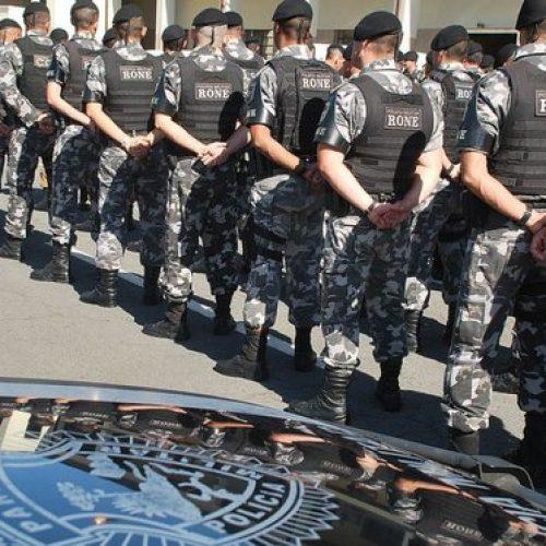 Polícia Militar em Pio IX é treinada por capitão do Rone durante final de semana