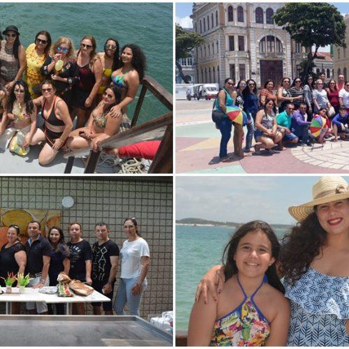 Professores de Vila Nova do Piauí fazem viagem ao litoral em comemoração ao seu dia