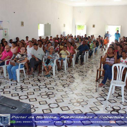 """Saúde de Simões realiza ações do projeto """"Mais Saúde"""" no povoado Curralinho"""