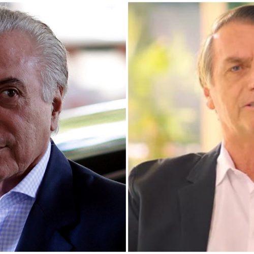 Transição entre governos Temer e Bolsonaro começa nesta 2ª feira