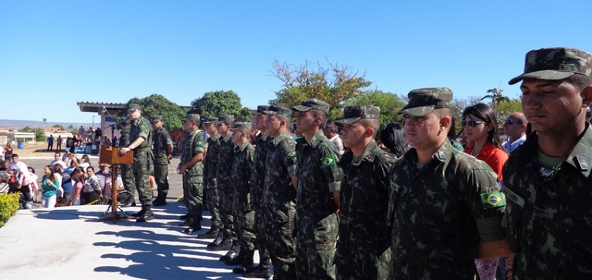Tropas do Exército começam a atuar no Piauí para coibir crimes eleitorais