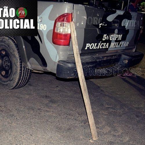 Durante discussão irmãos são agredidos a pauladas no município de Paulistana