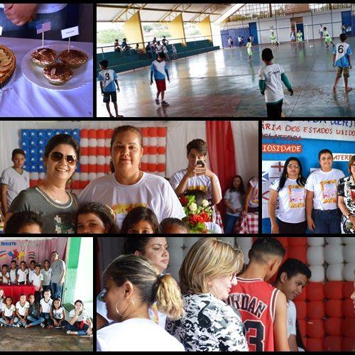 FRONTEIRAS   Unidade Escolar Hermínio José Ribeiro realiza jogos escolares e 1ª Feirinha Gastronômica Municipal