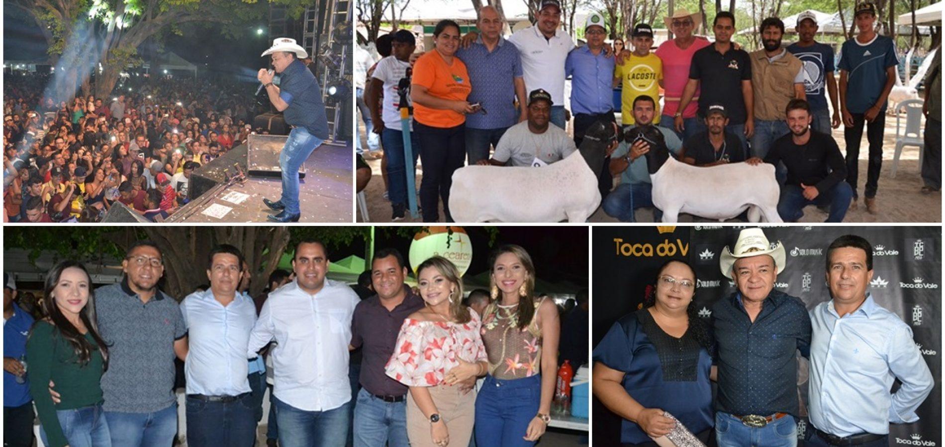 FOTOS | Show de Toca do Vale e entrega de premiação da ExpoCaboclos em Caldeirão Grande do PI