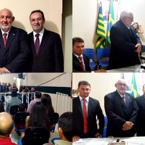 Vereador Adílson Nunes é eleito novo presidente da Câmara Municipal de Alagoinha do Piauí