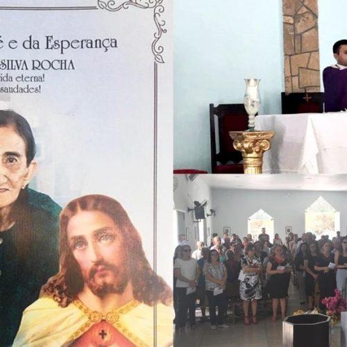 Missa de 7º dia do falecimento da ex-primeira dama Alaíde Rocha é celebrada em São Julião