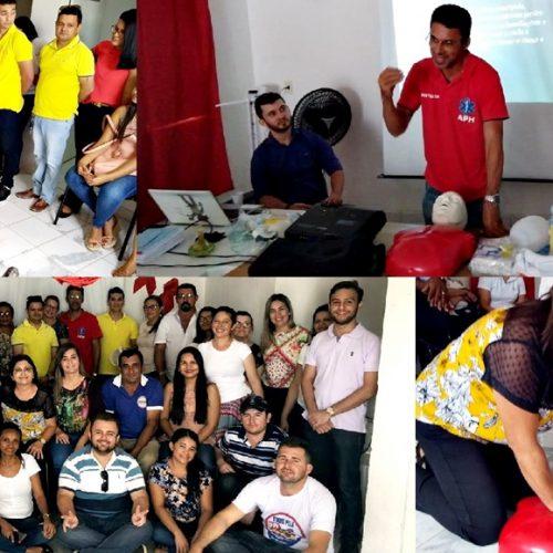 FRANCISCO MACEDO | Prefeito Nonato Alencar investe em capacitação para funcionários da Saúde
