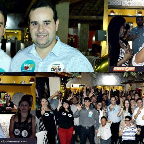 """Chapa 01 """"Sou + OAB"""" encerra campanha para presidência da OAB de Picos; veja fotos"""