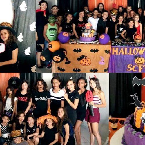 Prefeitura de São Julião promove Festa de Halloween para usuários do SCFV; veja fotos
