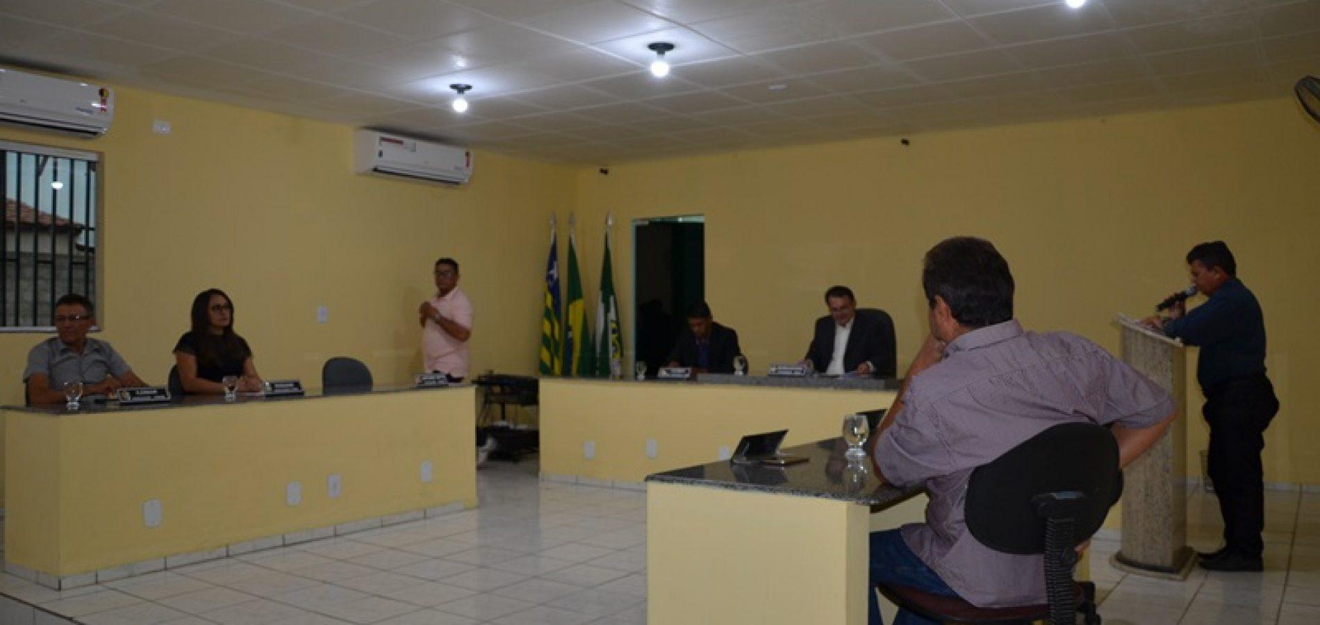 Câmara de Belém do Piauí, aprova importantes matérias; veja