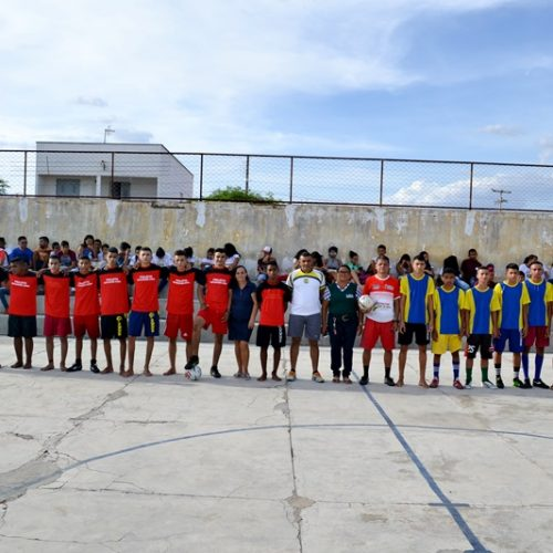 JAICÓS   Escola Municipal Francisco Crisanto realiza Campeonato Interclasse