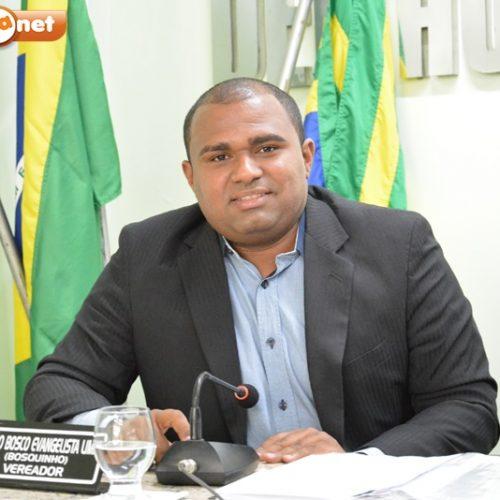 Vereador Bosquinho solicita iluminação pública parabairros de Jaicós