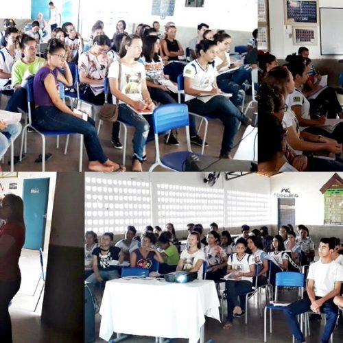 Em Alegrete, Escola Antônia de Sousa Alencar realiza Aulão para revisão no ENEM; veja fotos