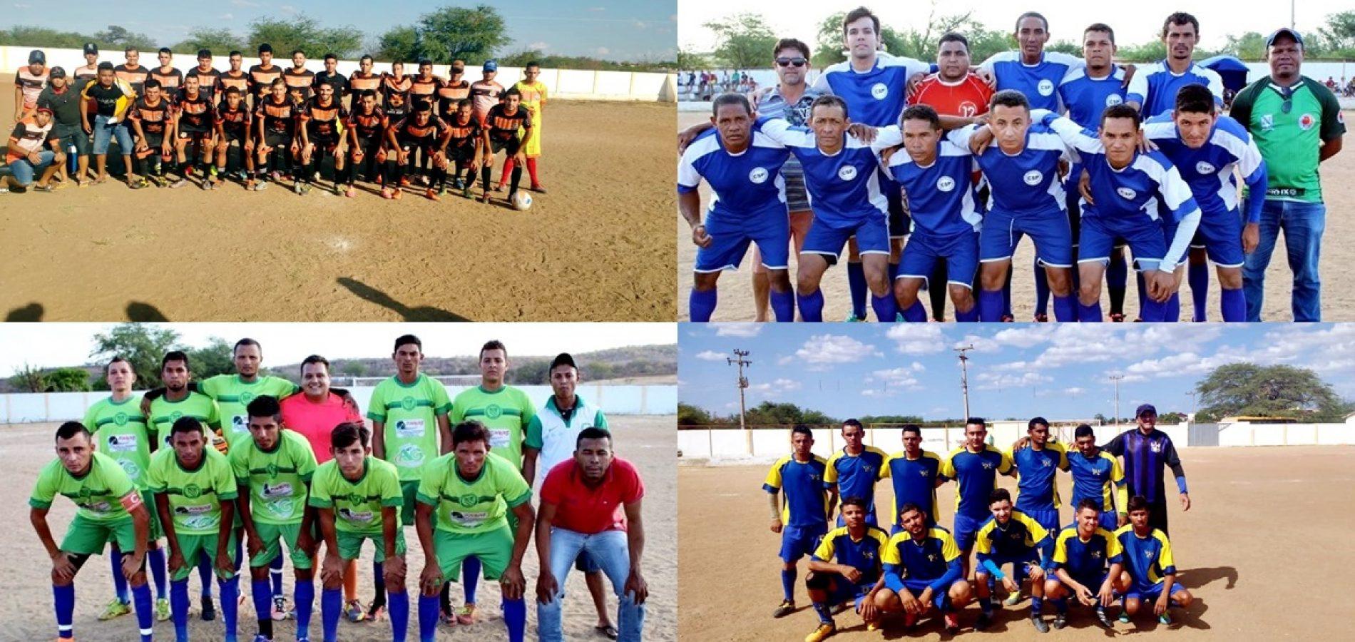 Prefeitura de Pio IX abre a III Copa Adauto Júnior de Futebol; veja os resultados da 1ª rodada