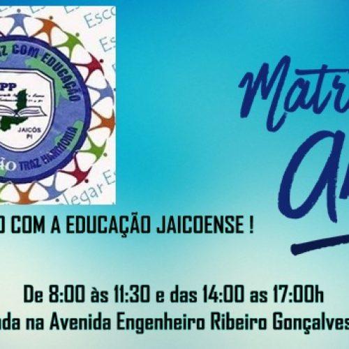 JAICÓS | Escola Pequeno Polegar está com matrículas abertas e realizará Feirão do Livro no dia 06