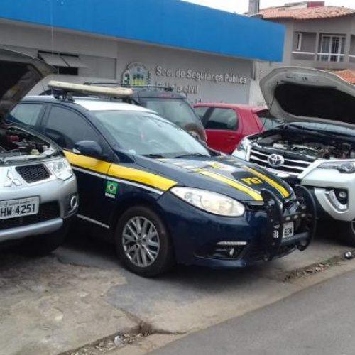 PICOS | Motoristas são presos com carros de luxo clonados na BR-316