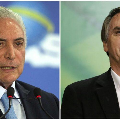Bolsonaro e Temer iniciam hoje formalmente governo de transição