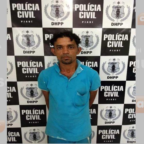 Polícia prende acusado de assassinar primo a pauladas e facadas no Piauí