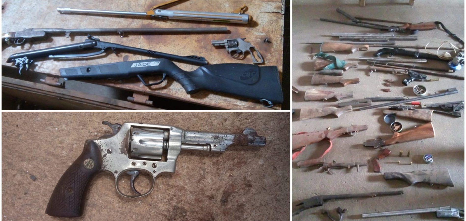 Polícia encontra suposta oficina de armas em Picos
