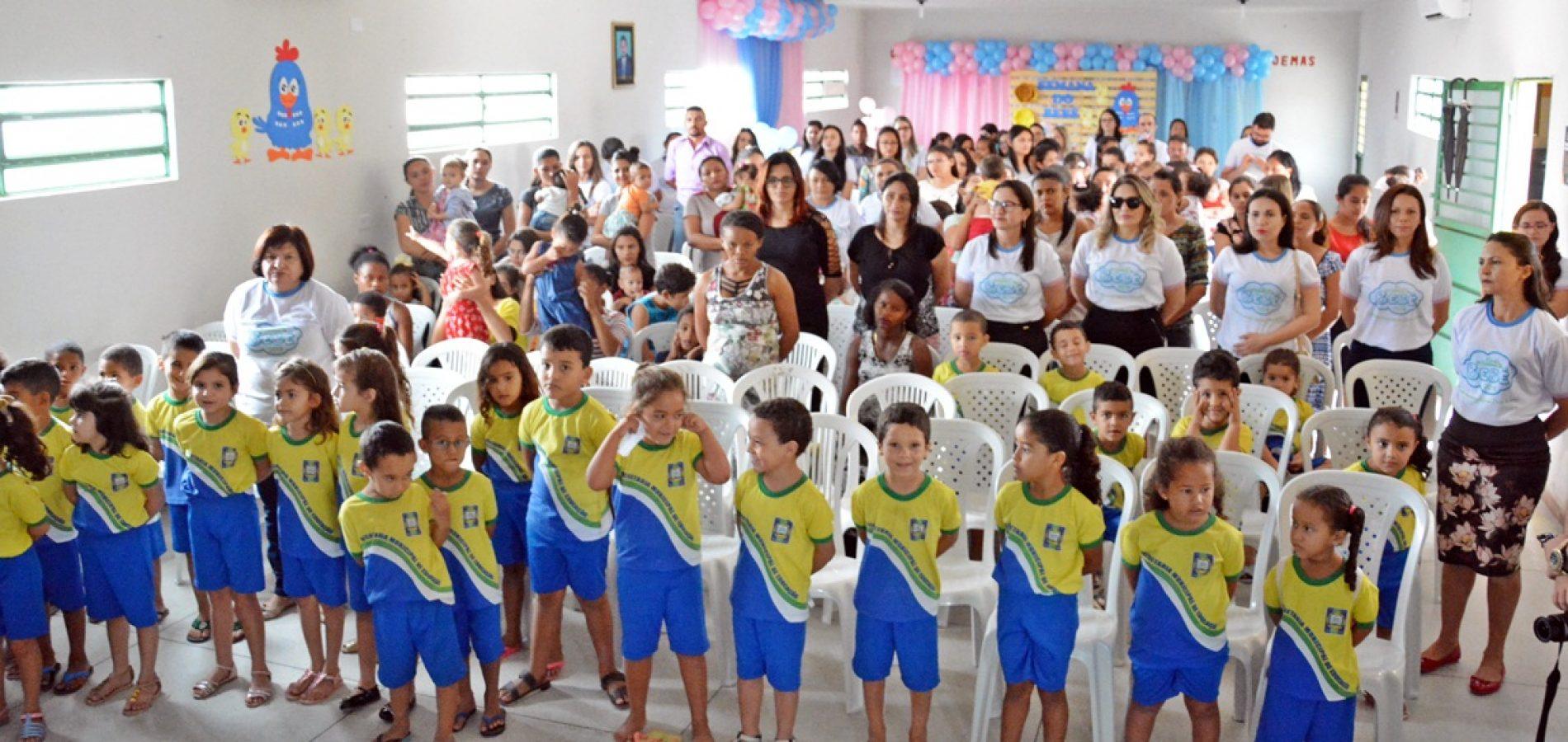 Semana do Bebê promove cuidados com a primeira infância em Belém do Piauí