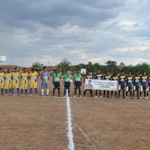 Campeonato Municipal de Futebol é aberto com goleada em Caridade do Piauí