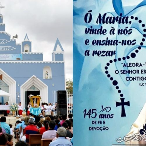 SÃO JULIÃO   Igreja Católica divulga programação do 145º Festejo de Nossa Senhora da Conceição