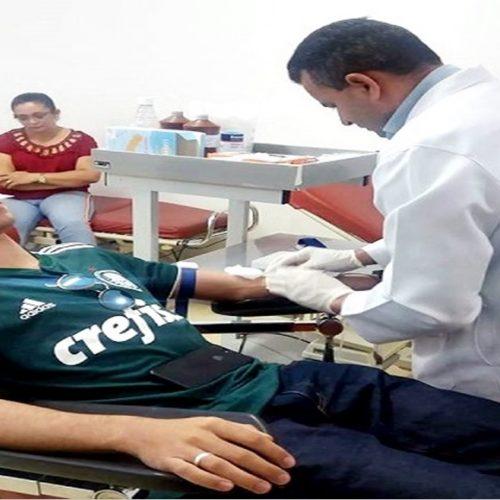 Hemocentro de Picos realiza atividades em alusão ao Dia Nacional do Doador de Sangue