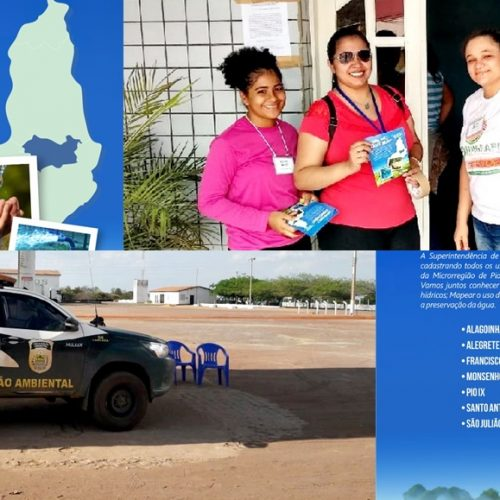 Equipe técnica da Semar promove campanha em municípios da região de Picos e Pio IX
