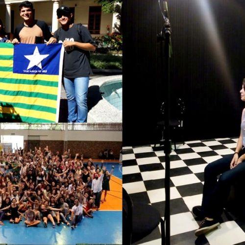 Adolescente de Vila Nova do Piauí participa de Encontro Sul-Americano de Crianças e Adolescentes no Rio de Janeiro