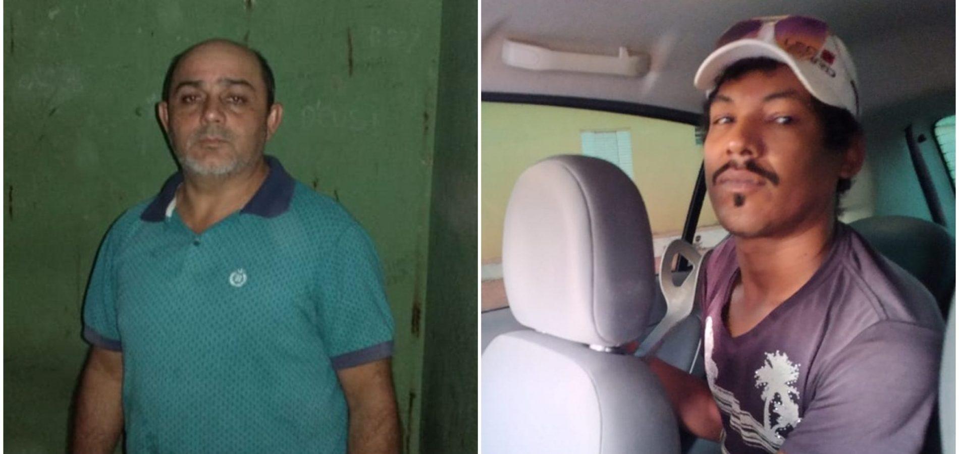 Presos dois suspeitos de latrocínio em Vila Nova do Piauí