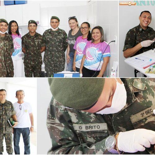 3° BEC realiza Ação Cívico Social em Jaicós e leva atendimentos gratuitos à população