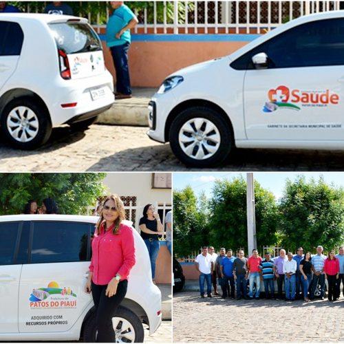 PATOS | Prefeito Agenilson investe em Saúde e entrega dois novos veículos