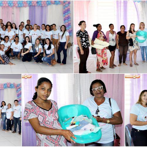 Atividade com gestantes marca encerramento da I Semana do Bebê em Jaicós
