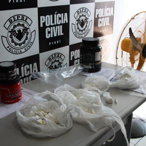 Droga apreendida na Operação Carteado é avaliada em 100 mil reais