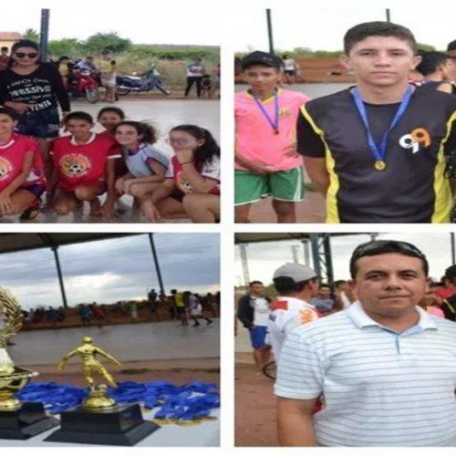 SÃO JULIÃO | Escola Antonio Rodrigues do povoado Mandacaru realiza torneio de futsal