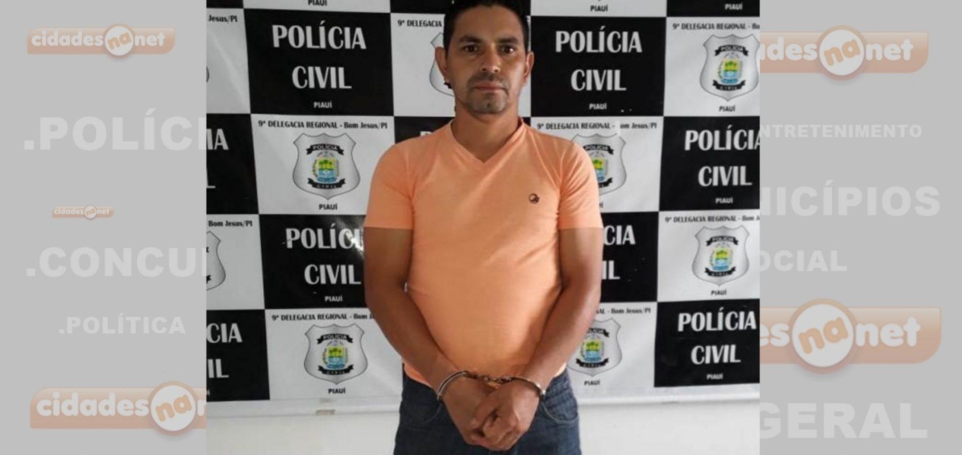 Foragido suspeito de estuprar a filha é preso no Piauí