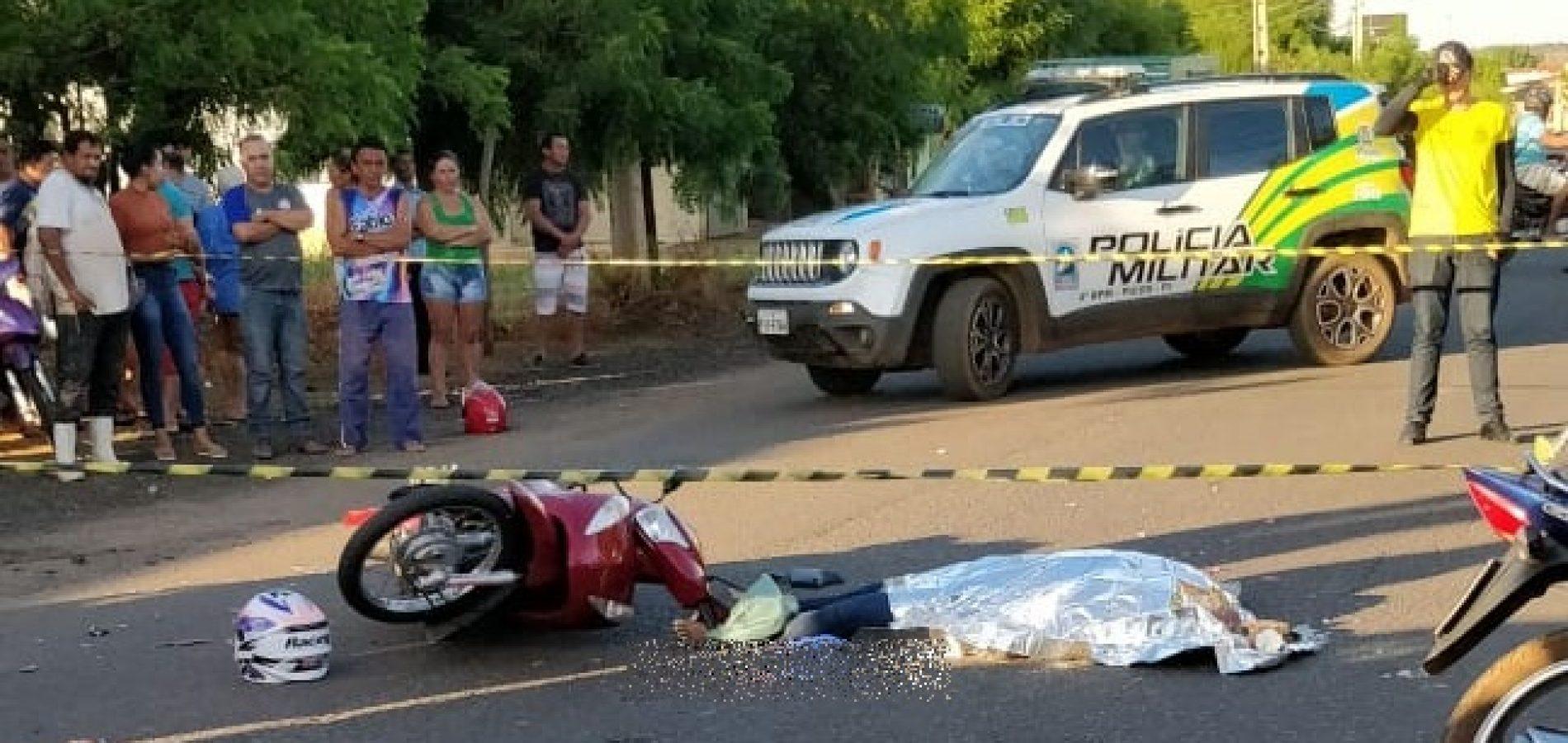 Jovem professora morre em acidente de trânsito em Picos